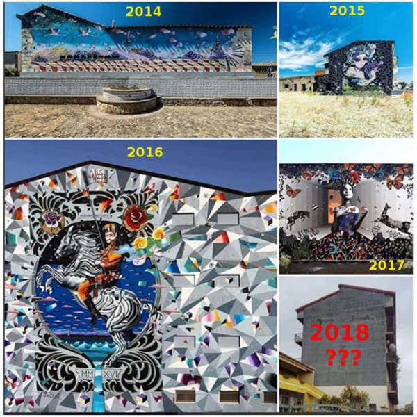 Foto - Credits: Non solo murales