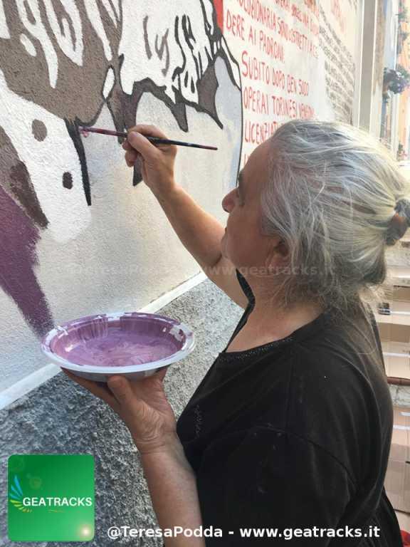 """Orgosolo: """"I murales appartengono al popolo"""""""