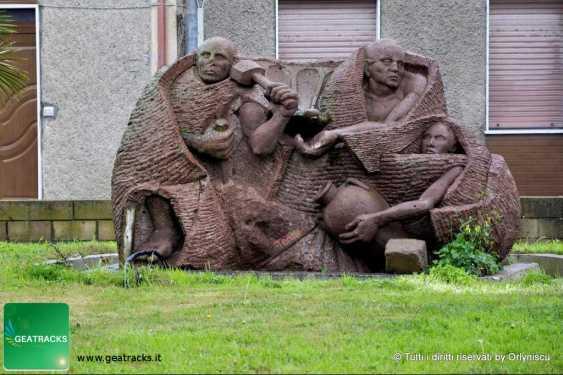 Solarussa (Sardegna): una storica scultura