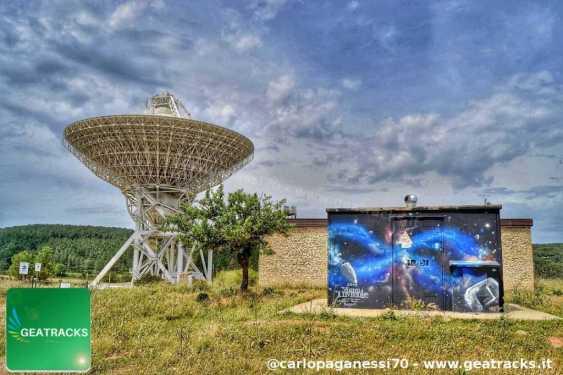 Sentendo l'infinito - RadioTelescope - San Basilio, Sardegna