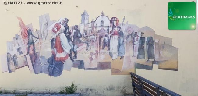 Sacro e profano - Concorso di murales Città di Macomer