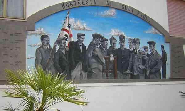 Monumento ai caduti in guerra - Montresta - Oristano