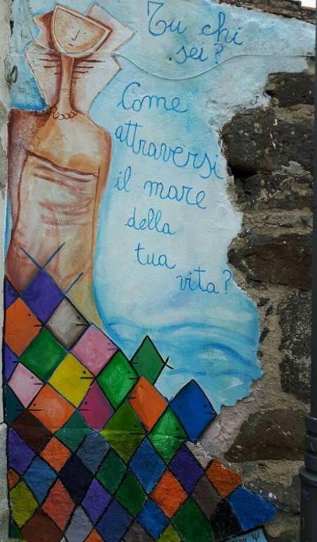 Acqua: Laboratorio di murales - Bauladu (Oristano)